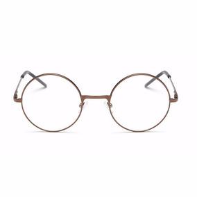 Armação Óculos Grau Metal Redondo Harry Poter Masc/femin Bh