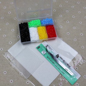 Box Perler Hama Beads 2.6mm 5500 Pcs 6 Cores
