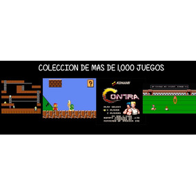Coleccion +1000 Juegos Nes Nintendo Clasico Emulador Pc