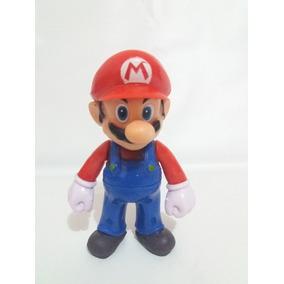 Boneco Miniatura Perfeita Do Super Mario Decoração Youtuber