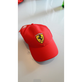 Boné Scuderia Ferrari Vermelho Original Novo Selo c93101aa05e