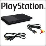 Playstation 2 Slim 9001 + Chispeado Ps2 Sin Control Oferta