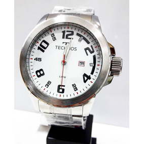 Relógio Masculino Technos Prata 2115mgr1b