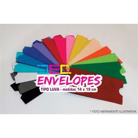 Envelope Tipo Luva 14 X 19 Cm - (10 Unidades)