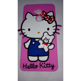 Case Protector De Silicona De Hello Kitty P9 Lite Smart