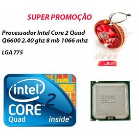 Processador Intel Core 2 Quad Q6600 2.40 Ghz 8mb + Cooler