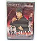 Dvd Puma O Guerreiro Das Ruas - Mickey Hardt - Lacrado Novo