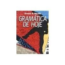 Livro Gramática De Hoje Ernani & Nicola