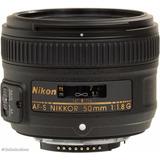 Nuevo Lente Nikon 50mm F1.8 G Autofocus D5300 D5500 D7100