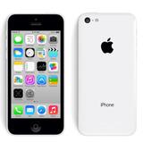 Iphone 5c 8gb Branco Seminovo Com Nota Fiscal E Acessórios