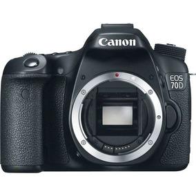 Camera Canon 70d + Lente 18-55