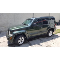 Jeep Liberty 2010 Sport Aut 4x2 Piel Impecable