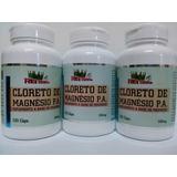 Cloreto De Magnésio P.a. - 360 Cápsulas 500mg 100% Puro.