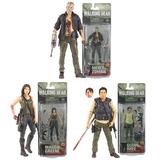 Set Glenn, Maggie Y Merle The Walking Dead Mcfarlane Oferta