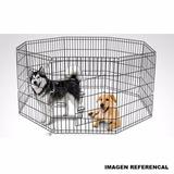 Corral Para Perros Y Mascotas Pequeñas 6 Paneles Pethome