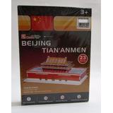Rompecabezas 3 D Beijing Tian Anmen 23 Piezas Arquitectura P