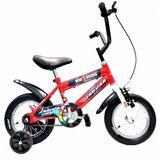 Bicicleta Montaña Infantil Niño Rodada 12 Llantas Inflables