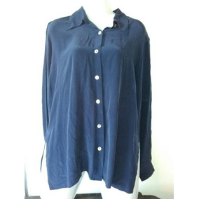 Camisa Seda De Dama Usada M/l