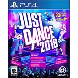 Just Dance 2018 Ps4 - Físico - Sellado - Nuevo - Nextgames