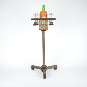 Mesa Inteligente De Churrasco Para Cerveja E Copos Heineken