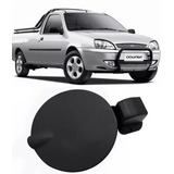 Portinhola Tampa Tanque Combustivel Preto Ford Courier
