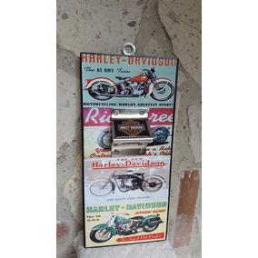 Moto Harley Davidson Cuadro Destapador Cartel Vintage 4 Moto