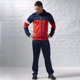 Oferta Buzo Reebok Para Hombre Azul Rojo Nike adidas Ndph