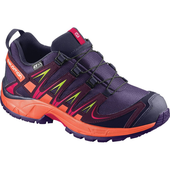 Zapatillas Salomon - Xa Pro 3d Cs Wp - Trail Running - Ni?os