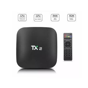 Tv Box Tx2 4k 2gb 16gb Android 6 Kodi + Mini Teclado
