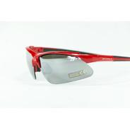 Gafas Optimus Marco Rojo - Negro Lente Gris Humo