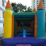 Castillo Inflable De 3x3 Mtrs