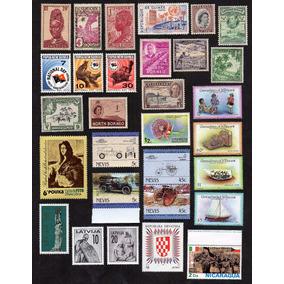 (12178) Selos Universais Comemorativos Novos 1948-1985 Ótimo