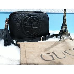 Bolsa Gucci Soho Couro Legitimo - Bolsas Gucci de Couro Sintético ... fab2e07294