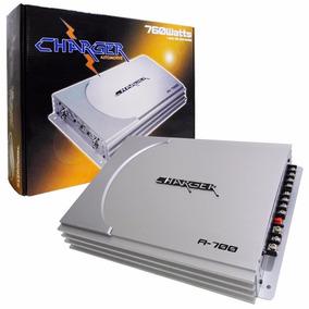 Modulo Amplif. Charger A-700 Mono/stereo 4 Canais 340w Rms