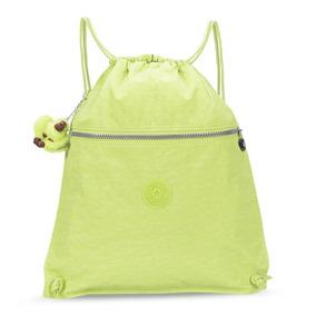 Mochila Supertaboo Amarelo Neon Blazing Yellow Kipling