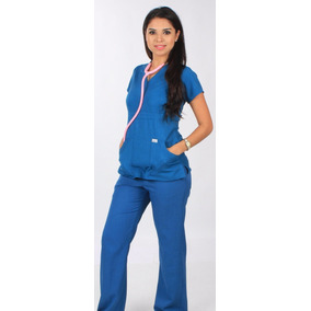 Bee On Fit - Traje Quirurgico Filipina Pijama Scrub Pitufo
