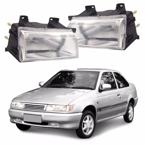 Lente Farol Volkswagen Logus 1993 1994 Vidros #2405