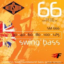 Rotosound Sm666 Swing Bass Para Baixo 6 Cordas Strings