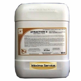 Shampoo Detergente Estofados Carpetes Xtraction Il 20lts