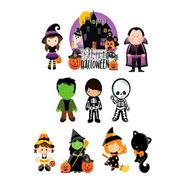 Topper Topo De Bolo Halloween  10pcs
