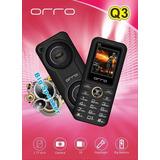 Celular Barato Orro Q3 2luz Flash 2bocinas 2500 Mah