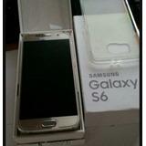 Samsung Galaxy S6 Con Su Caja, Estética De 9