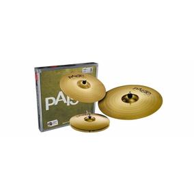 Paiste 101 Brass Universal Set - P R O M O Ç A O