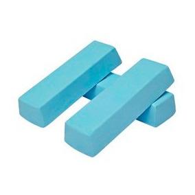 Pedra Azul Para Polir Inox Aluminio Cromado 1,100kg