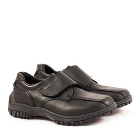 Zapatos Colegiales De Varón De Cuero Del 34 Al 40