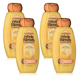 Garnier Whole Blends Repairing Shampoo Honey Treasures, 4 Co
