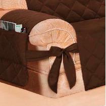 Capa De Proteção Para Sofá (kit 2 Peças) Marron