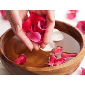 Agua De Rosas 100% Natural De 1 Litro Increíbles Beneficios