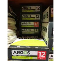 Rollo De Cable Electrico Calibre 12 Marca Argos Unipolar