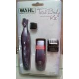 Afeitadora Wahl 2 Maquinas Ceja Nariz Cabello Total Body Kit